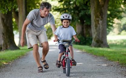 Belajar bersepeda