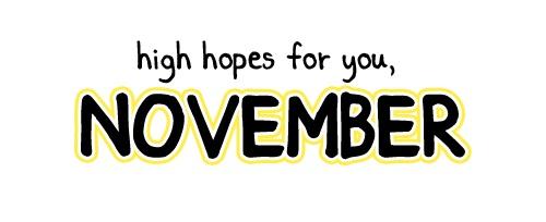 Kegelisahan Bulan November
